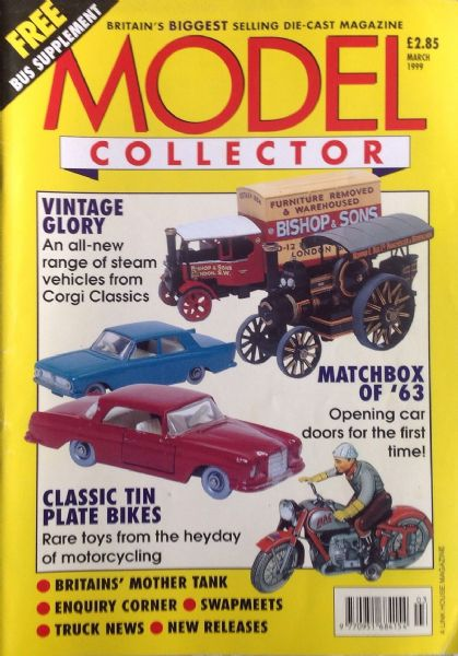 ORIGINAL MODEL COLLECTOR MAGAZINE March 1999